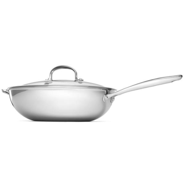 OXO Good Grips 12 in. Stainless Steel Pro Cvd Wok