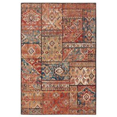 Bazaar Gemma Gold 5 ft. x 7 ft. Area Rug