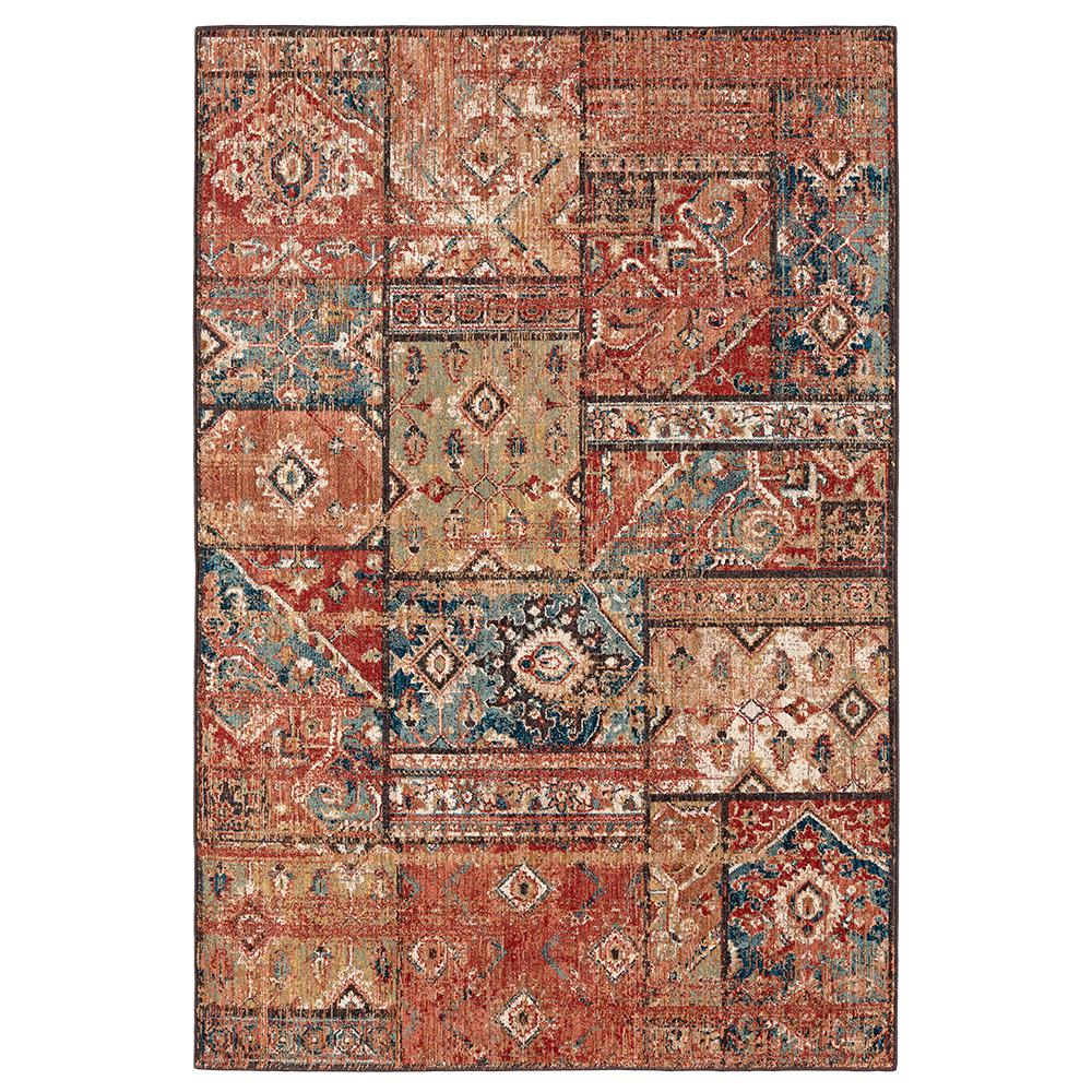Mohawk Home Bazaar Gemma Gold 5 Ft X 7 Ft Area Rug