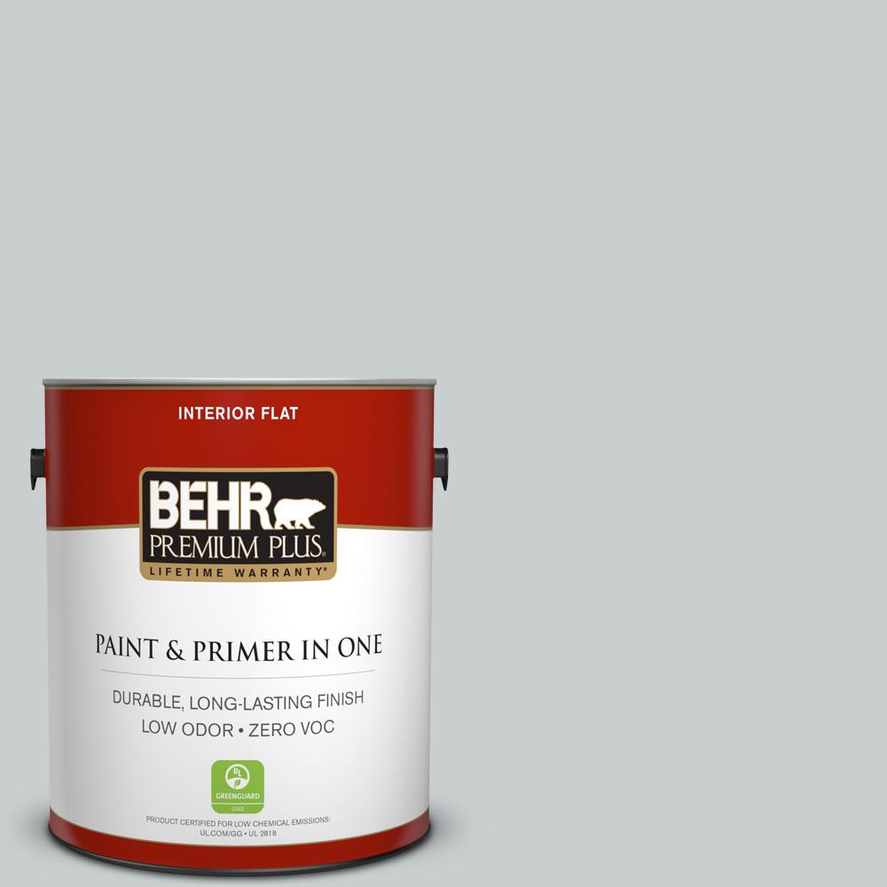 1 gal. #720E-2 Light French Gray Flat Zero VOC Interior Paint