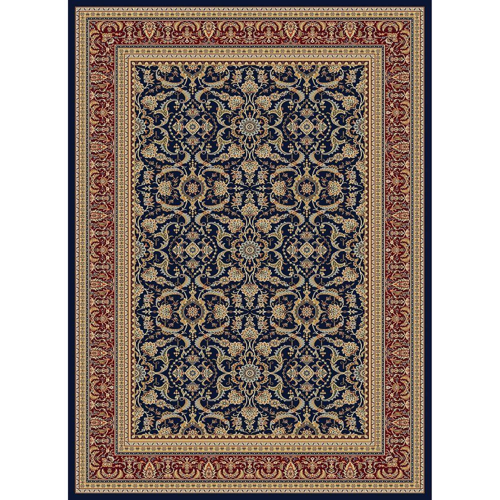 Williams Collection Izmir Navy 7 ft. 10 in. x 10 ft.