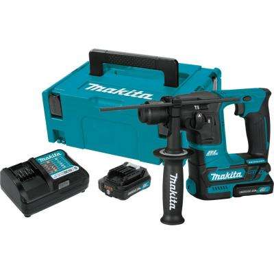 12-Volt MAX CXT Li-Ion 5/8 in. Brushless Cordless SDS-Plus Concrete/Masonry Rotary Hammer Drill w/ (2) Batteries 2.0 Ah