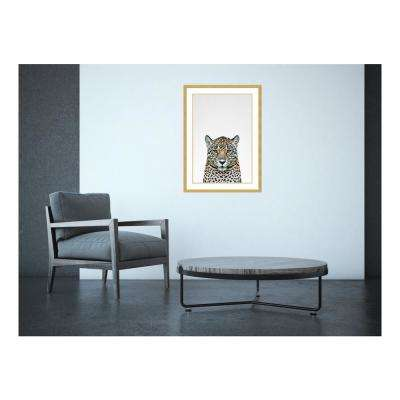 21.00 in. W x 29.00 in. H Leopard II by Tai Prints Printed Framed Wall Art
