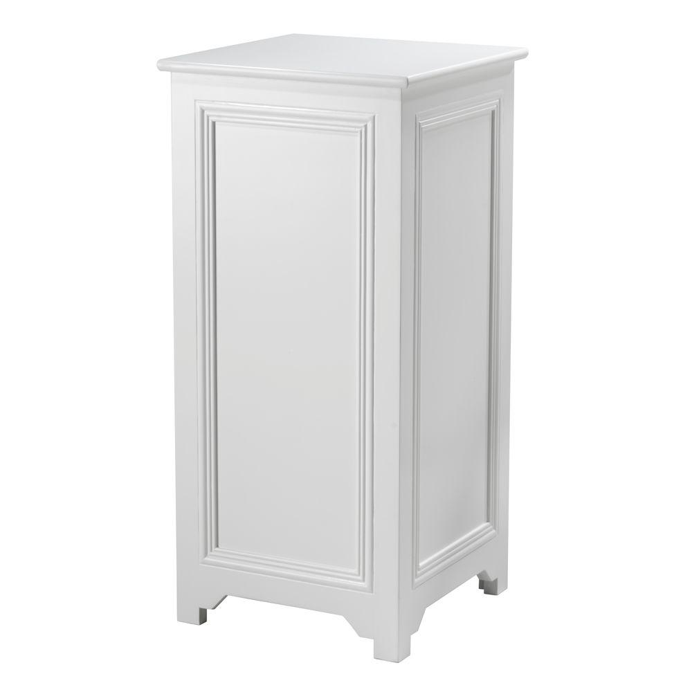 Home Decorators Collection Oxford 42 in. H White Pedestal