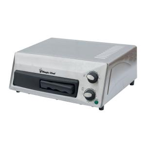 Magic Chef 12 in. Countertop Pizza Oven in Stainless