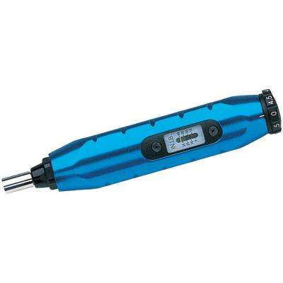1/4 in. 5-40 in./lbs. Micrometer Adjustable Torque Screwdriver