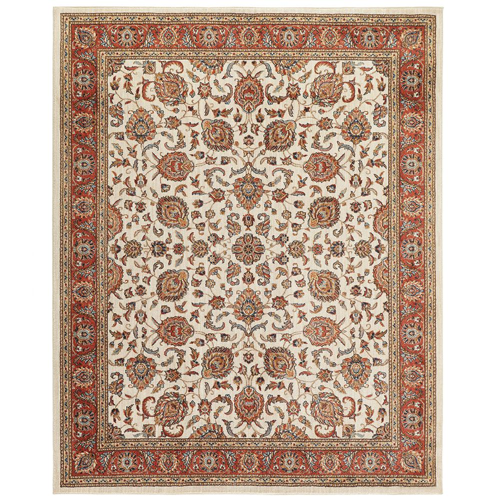 Home Decorators Collection Courtyard Cream 8 Ft X 10 Ft Area Rug 539641 The Home Depot