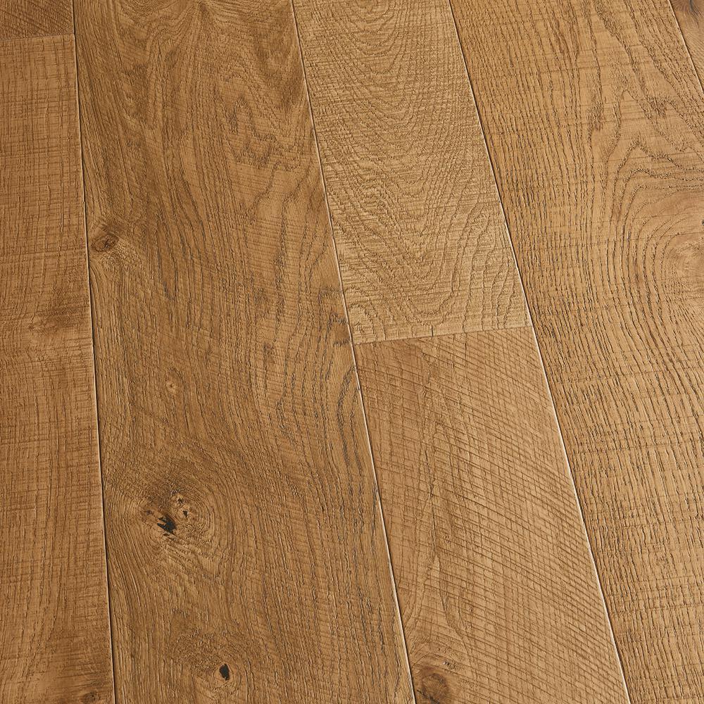 Malibu Wide Plank Take Home Sample French Oak Montara Engineered Click Lock Hardwood Flooring 5 In. X 7 In.