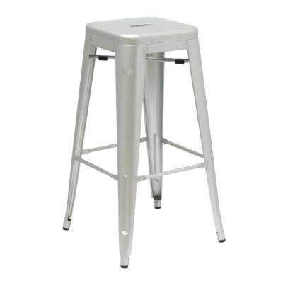 30 in. Silver Talix Bar Stool
