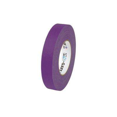 1 in. x 55 yds. Purple Gaffer Industrial Vinyl Cloth Tape (3-Pack)