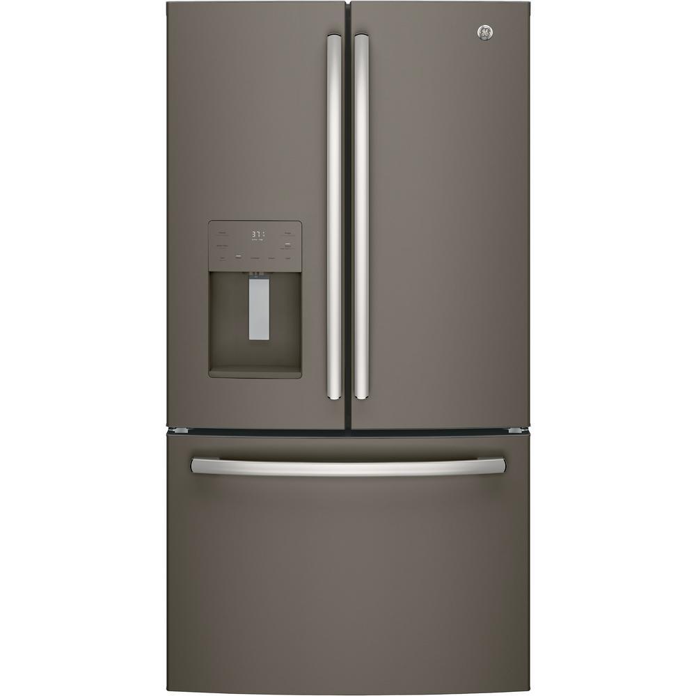 25.6 cu. ft. French-Door Refrigerator in Slate, Fingerprint Resistant and ENERGY STAR
