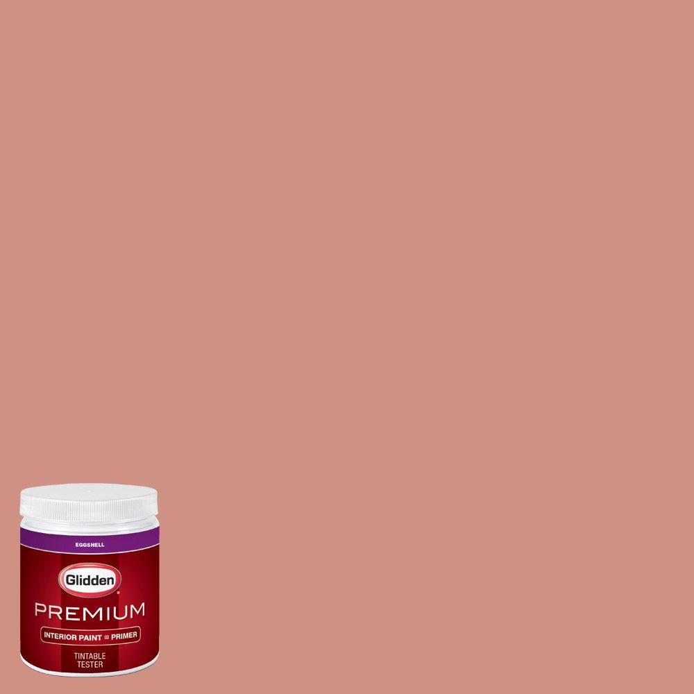 Glidden Bathroom Paint: Glidden Premium 8 Oz. #HDGO07U Faded Rose Eggshell