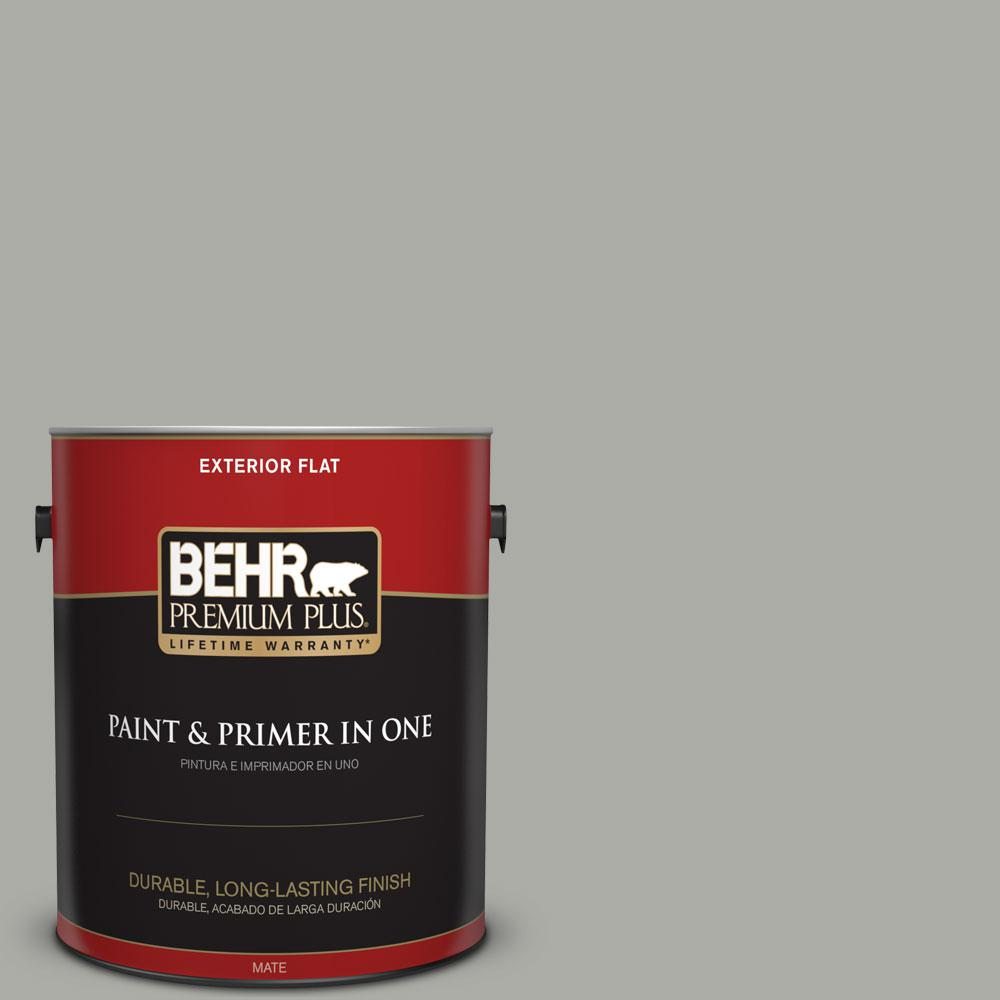 1-gal. #PPF-39 Cool Granite Flat Exterior Paint