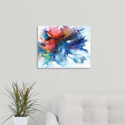 """Color Burst"" by Circle Art Group Canvas Wall Art"