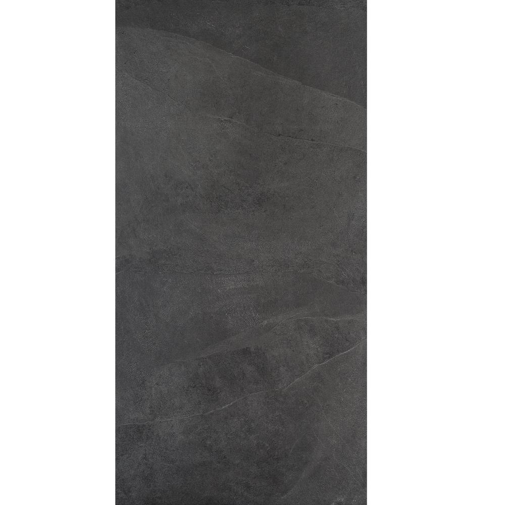 Daltile Caldwell Dark Grey Matte 12 In X 24 In Color