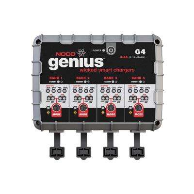 4.4 Amp 4-Bank UltraSafe Battery Charger and Maintainer