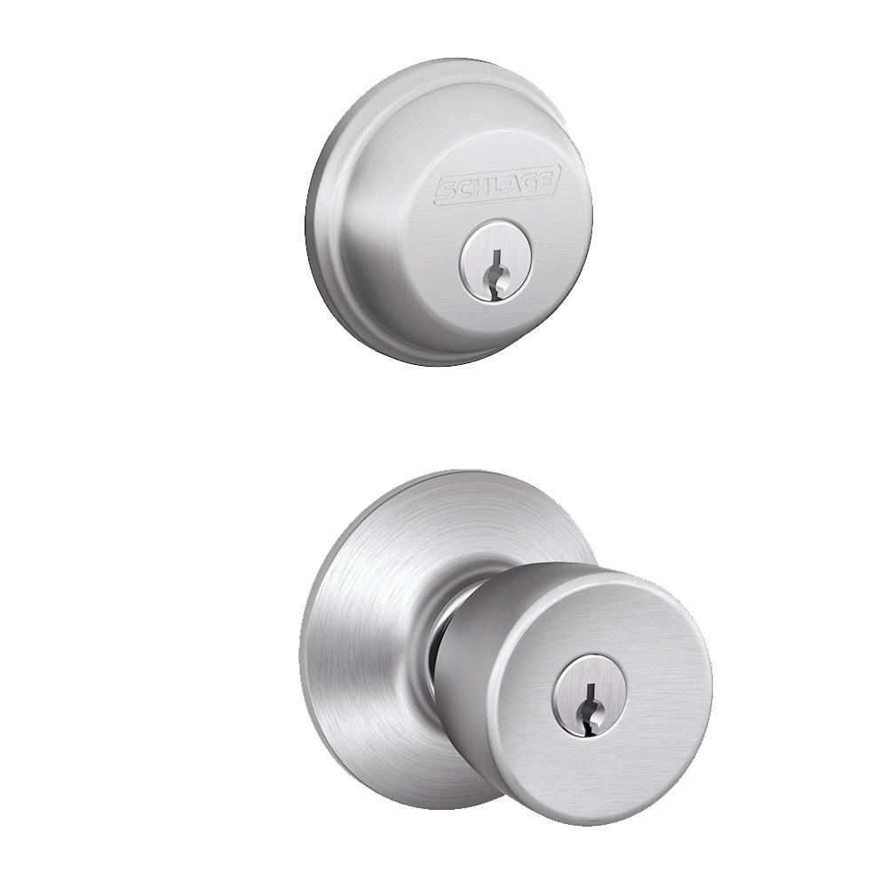Schlage Entry Door Knobs Hardware Hardware The Home Depot