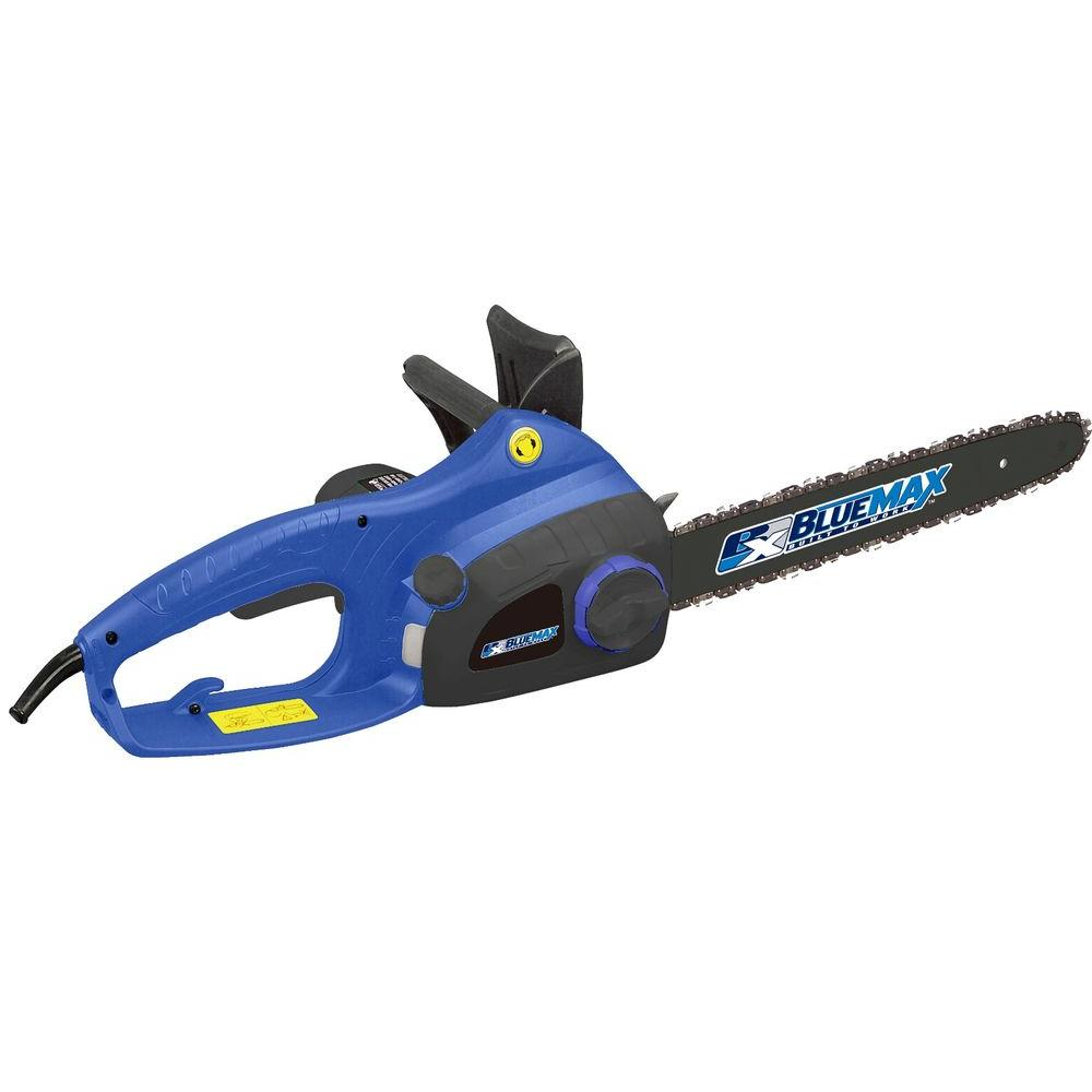 Blue max 16 in 13 amp electric chainsaw with twist chain tensioner 13 amp electric chainsaw with twist chain tensioner greentooth Images