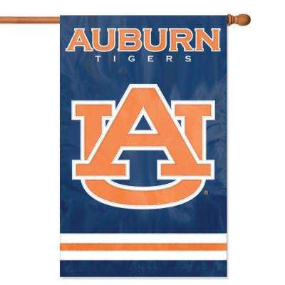 Auburn Tigers Applique Banner Flag