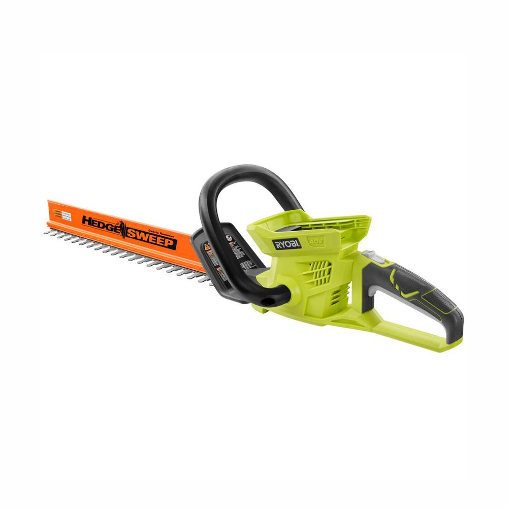 RYOBI 24 in. 40-Volt Lithium-Ion Cordless Battery Hedge Trimmer (Tool Only)