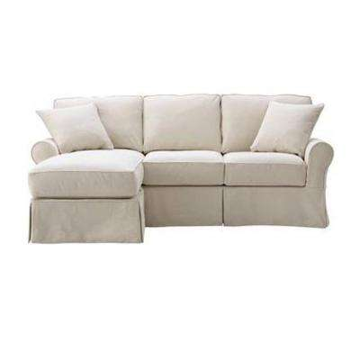 Mayfair 2-Piece Classic Natural Sectional with Chaise