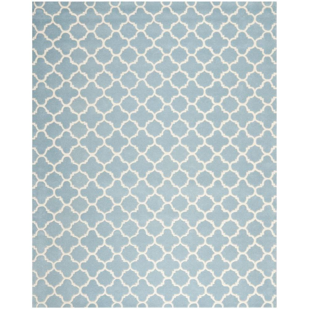 Chatham Blue/Ivory 8 ft. 9 in. x 12 ft. Area Rug