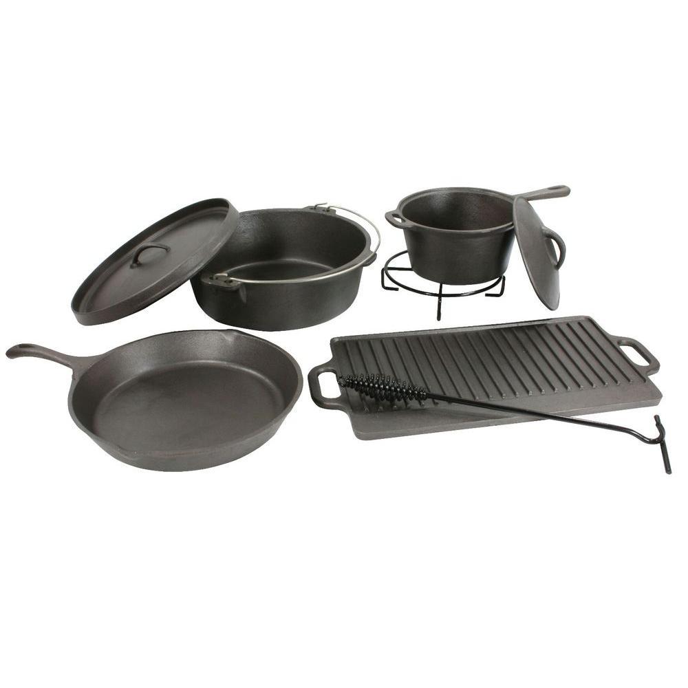 Sportsman 8-Piece Cast Iron Cookware Set -DISCONTINUED