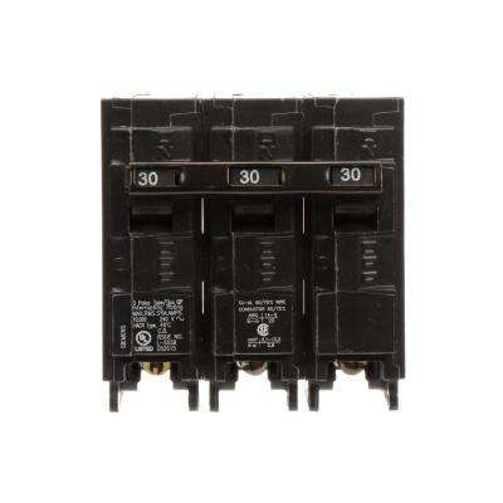 30 Amp 3-Pole Type QP Circuit Breaker