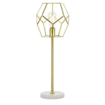 Bellini 24 in. Gold Table Lamp