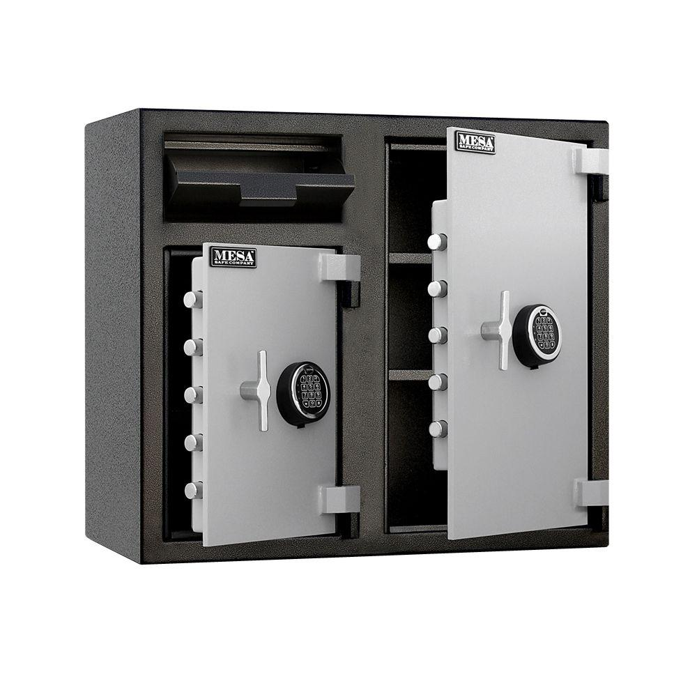 6.7 cu. ft. All Steel Depository Safe with Two Electronic Locks
