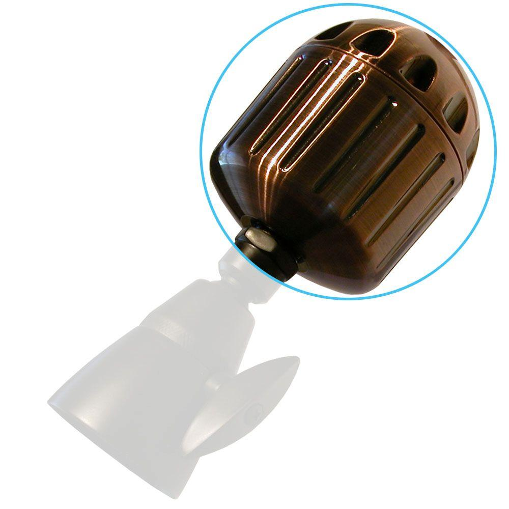 Sprite Showers High Output2 3-1/2 in. Shower Filter in Bronze