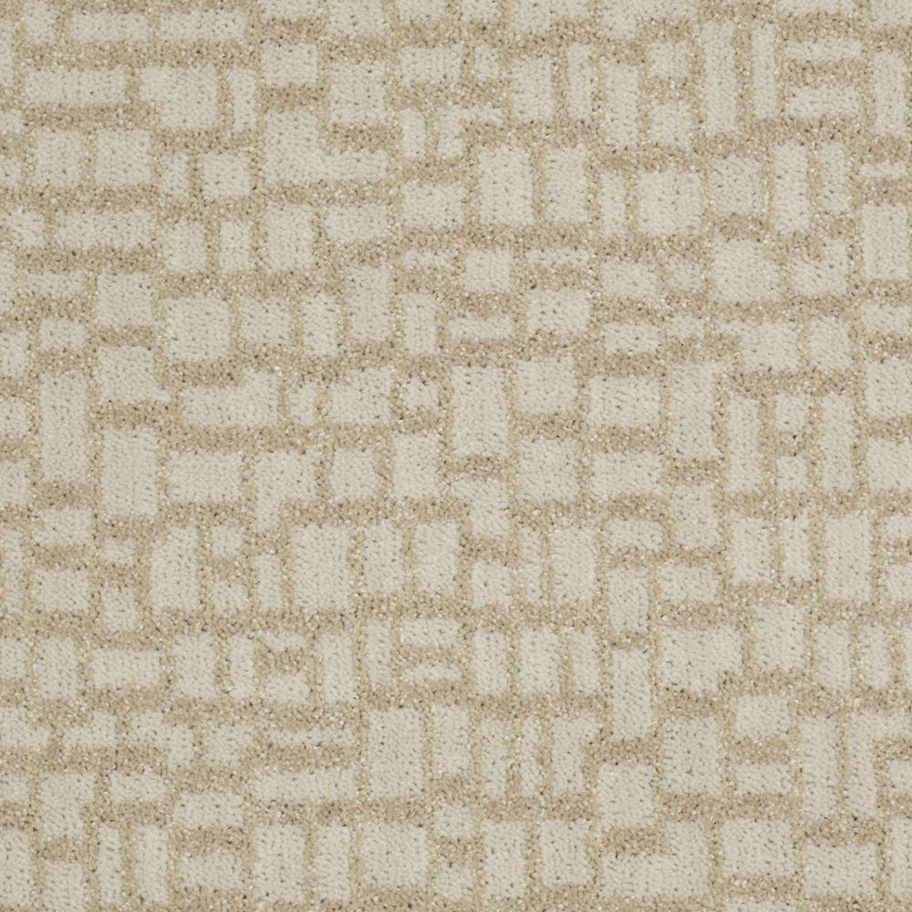 Martha Stewart Living Mount Brayburn - Color Natural Twine 6 in. x 9 in. Take Home Carpet Sample-DISCONTINUED