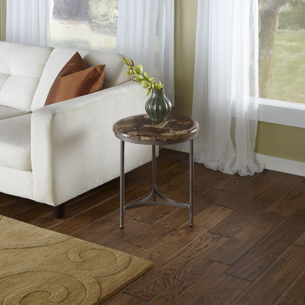 Home Styles Petrified Wood End Table