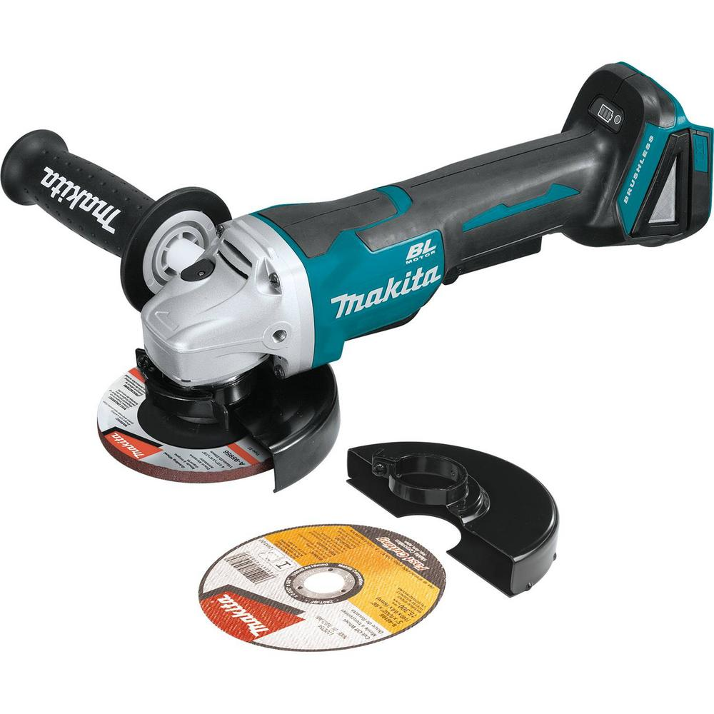 Makita 18-Volt LXT Lithium-Ion Brushless Cordless 4-1/2 i...