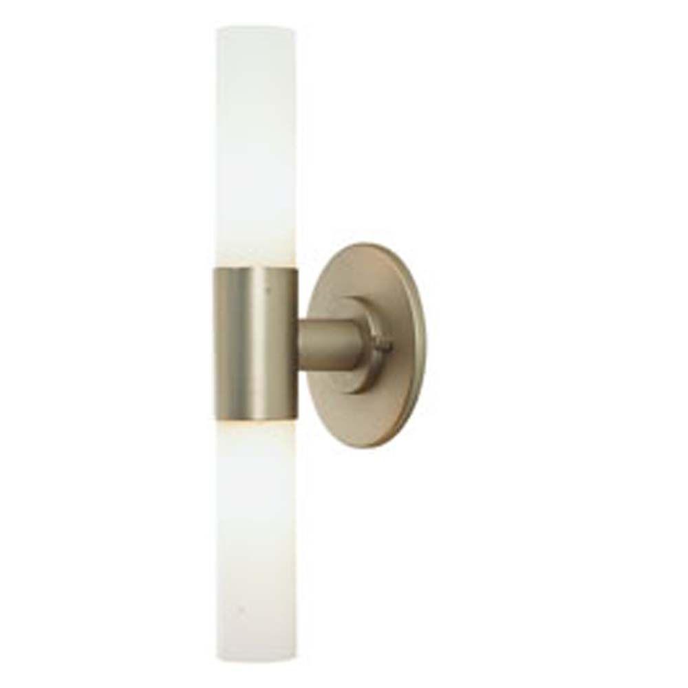 Filament Design Spectra 2-Light Matte Satin Nickel Sconce