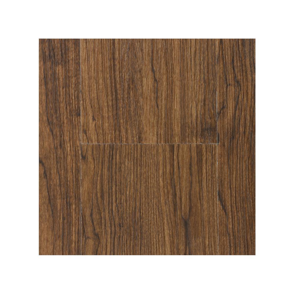 Take Home Sample - Teak WPC Vinyl Plank 7 in. W x 8 in. L