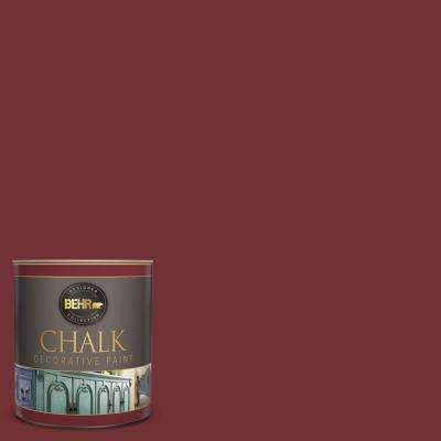 1-qt. #BCP06 Red Ochre Interior Chalk Finish Paint