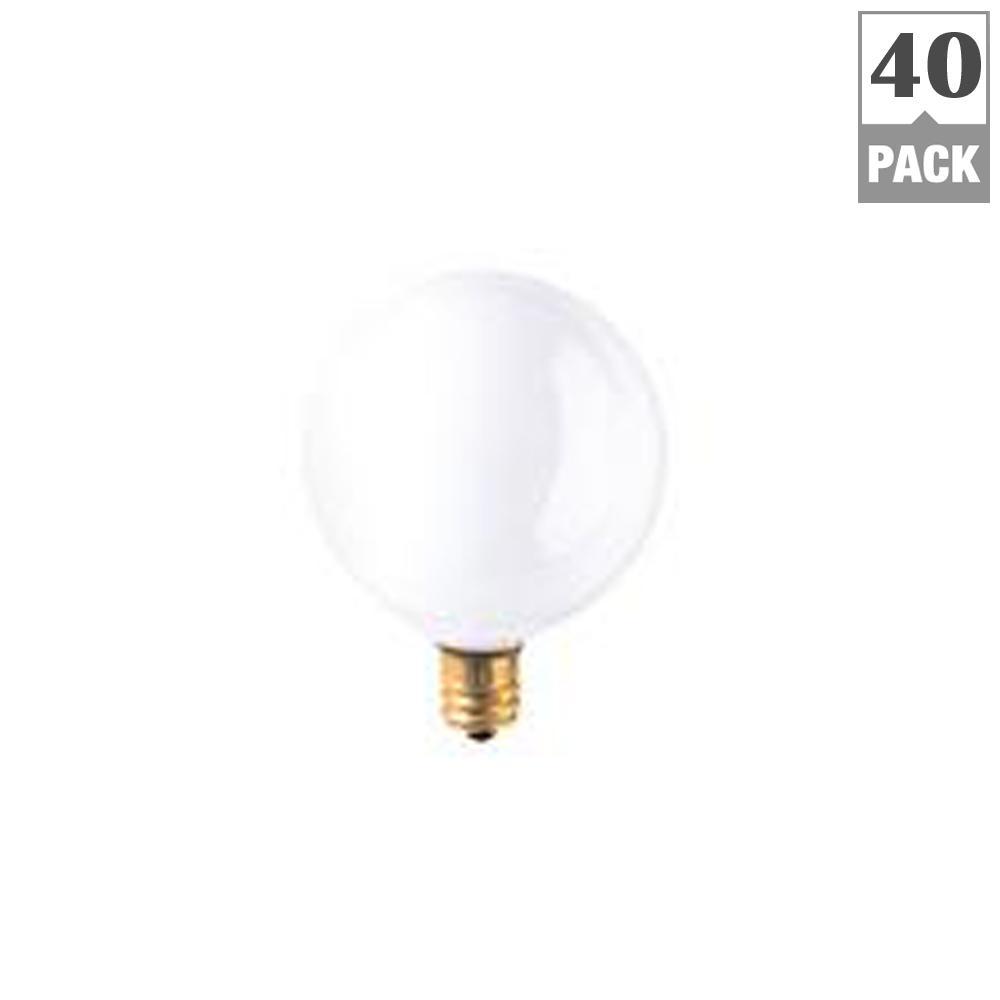 Bulbrite 40w Equivalent Warm White Light G16 Dimmable Led: Bulbrite 25-Watt G16.5 White Dimmable Warm White Light