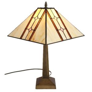 Amora Lighting 22.5 in. Tiffany Style Mission Table Lamp ...