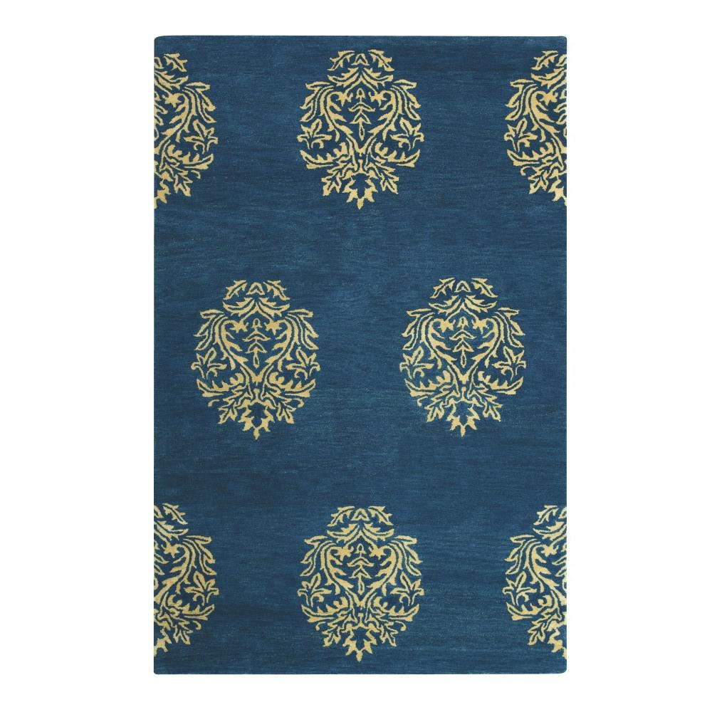 Home decorators collection martine blue beige 9 ft x 13 for Home decorators rugs blue