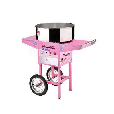 Vortex Cotton Candy Maker and Cart