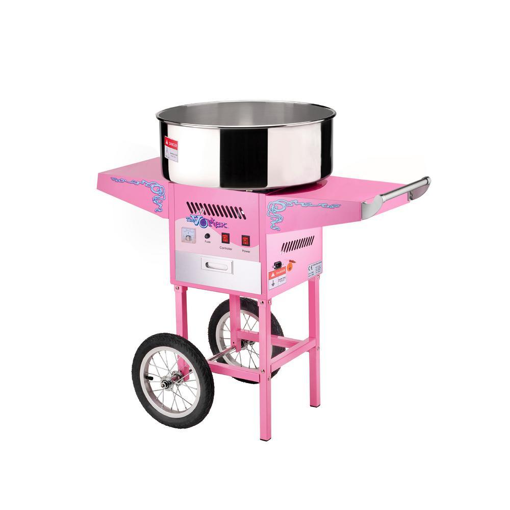 Vortex Cotton Candy Maker and Cart