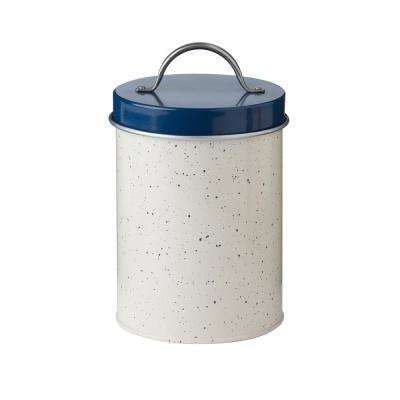 Milk Street 45 oz. Metal Storage Canister with Speckled
