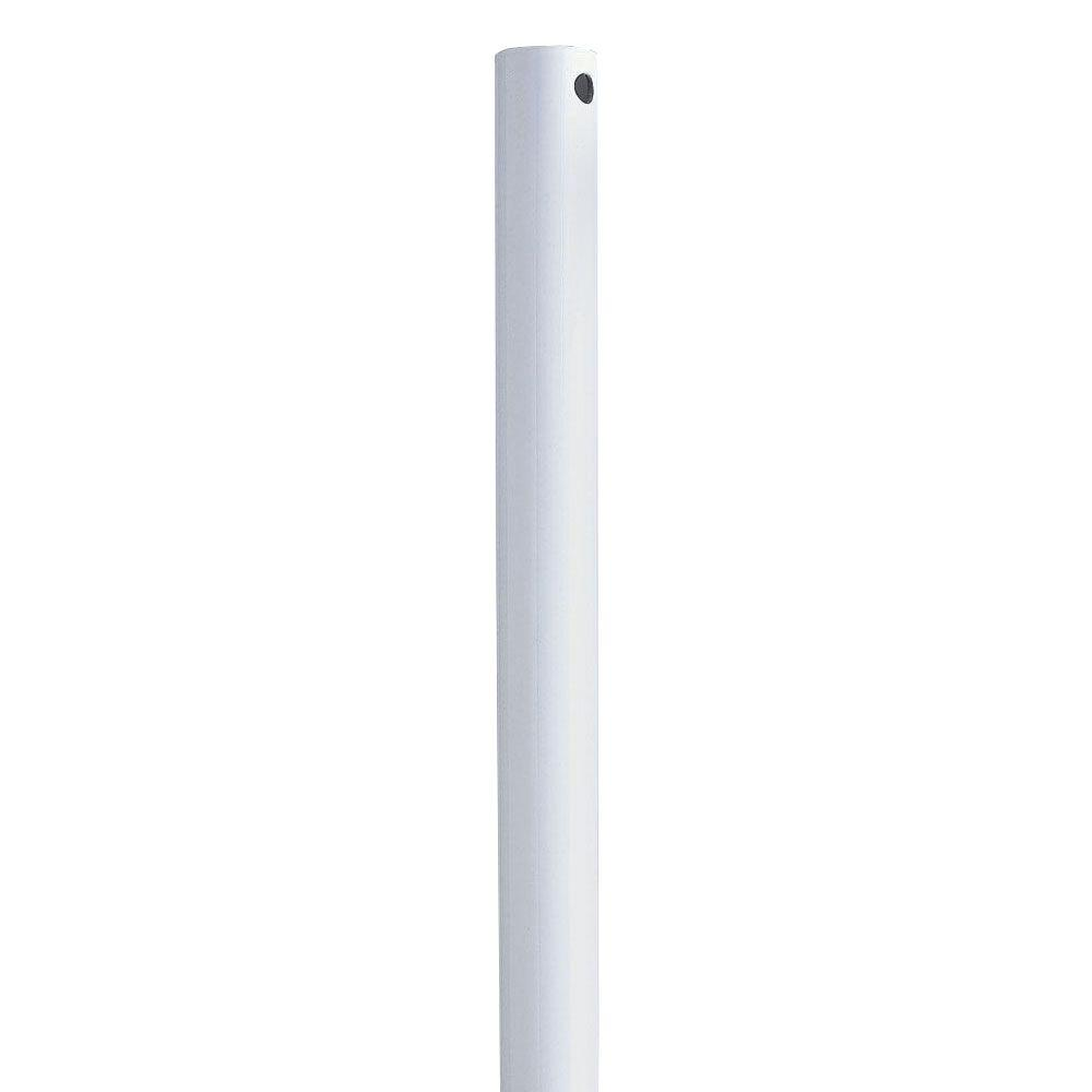 Progress Lighting AirPro 18 in. White Extension Downrod