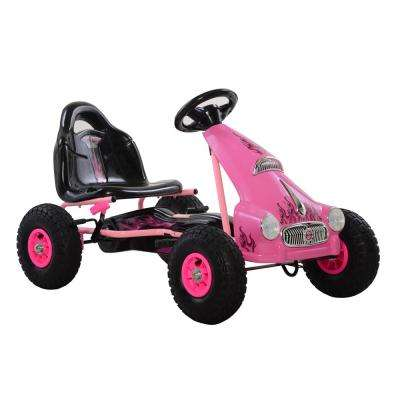 Cycle Force Top Racer Pedal Car in Pink
