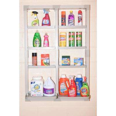 VersaCaddy 32 in. x 48 in. Organization Kit with Uni-Frame including 8 Durable PVC Shelves