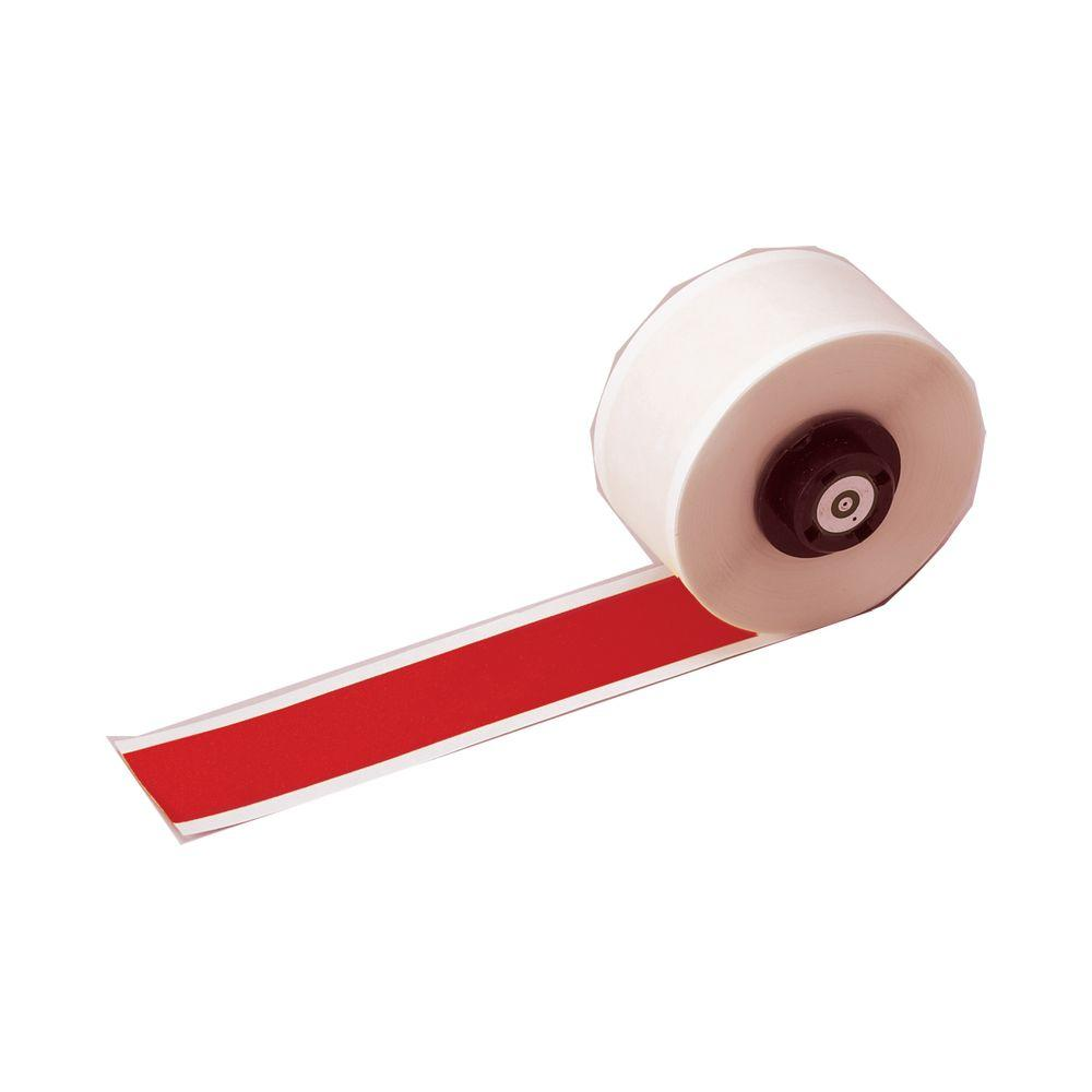 B-595 HandiMark 1 in. x 50 ft. Indoor/Outdoor Vinyl Red Film