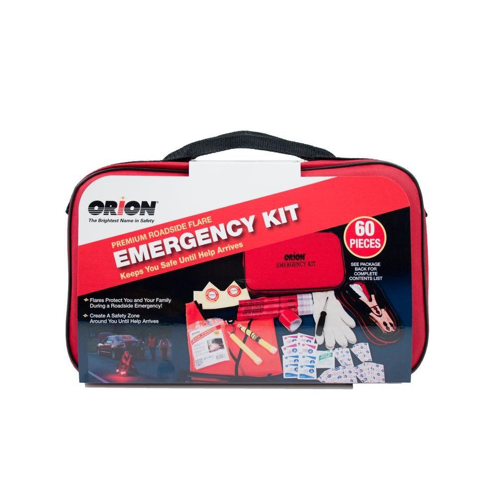 Premium Flare Emergency Kit (60-Piece)