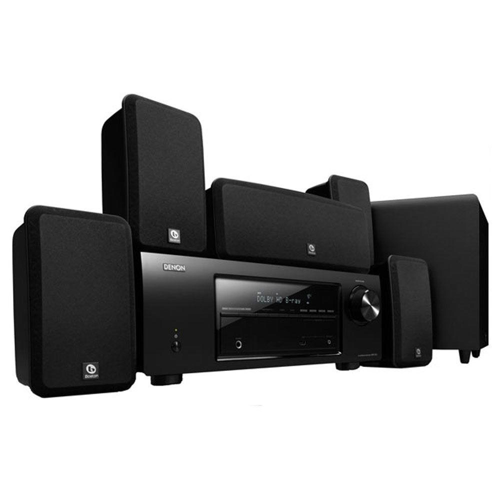 Denon 5.1 Channel Home Theater System with 5 Speakers and a Subwoofer-DISCONTINUED