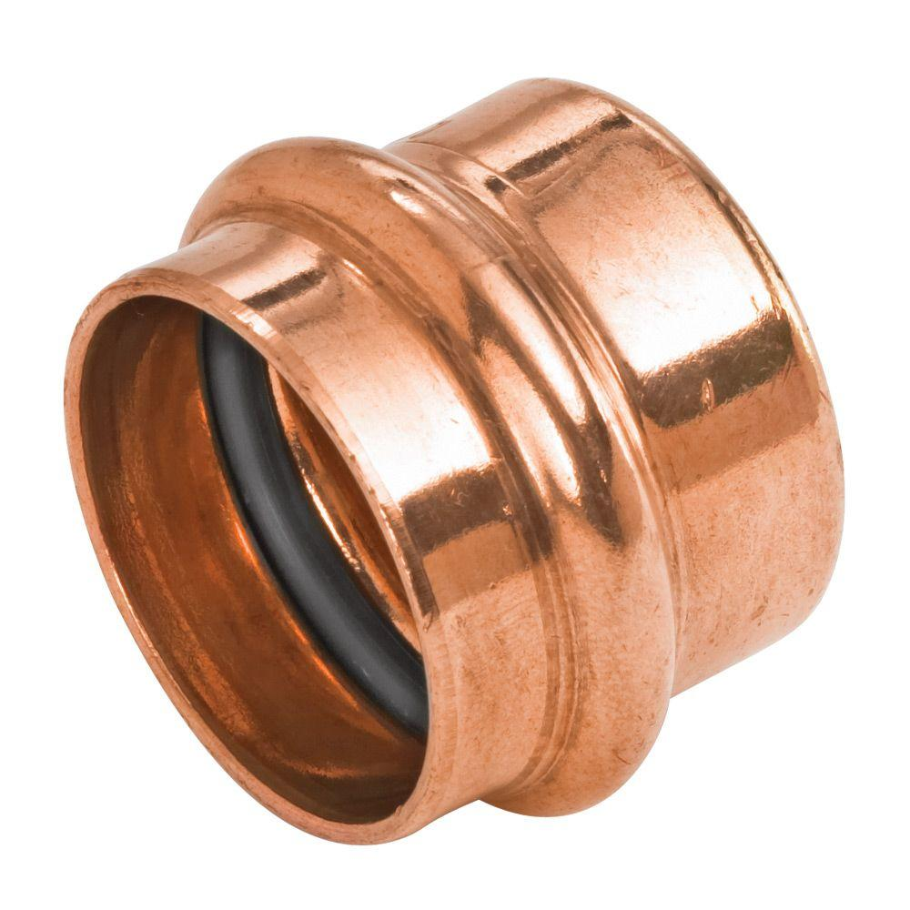 1 in. Copper Press Pressure Tube Cap